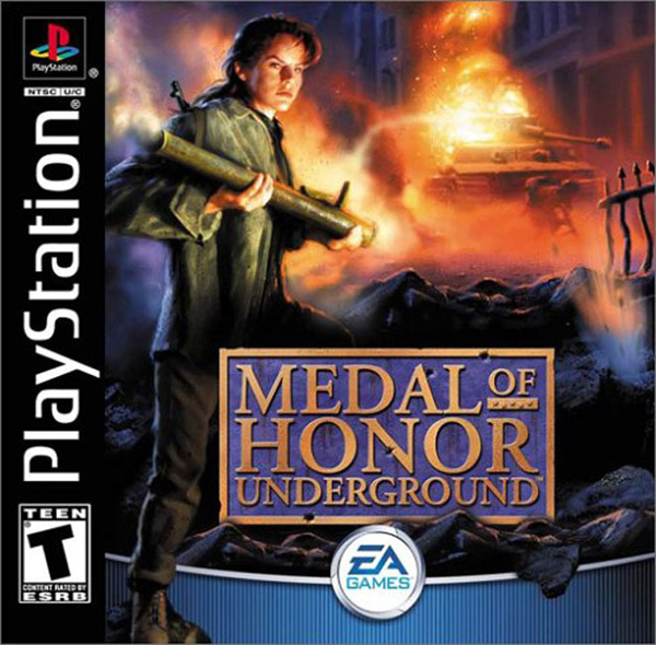 Medal of Honor - Underground Front Cover